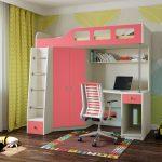 комплекс шкаф-кровать-рабочий стол