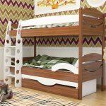 варианты двухъярусных кроватей