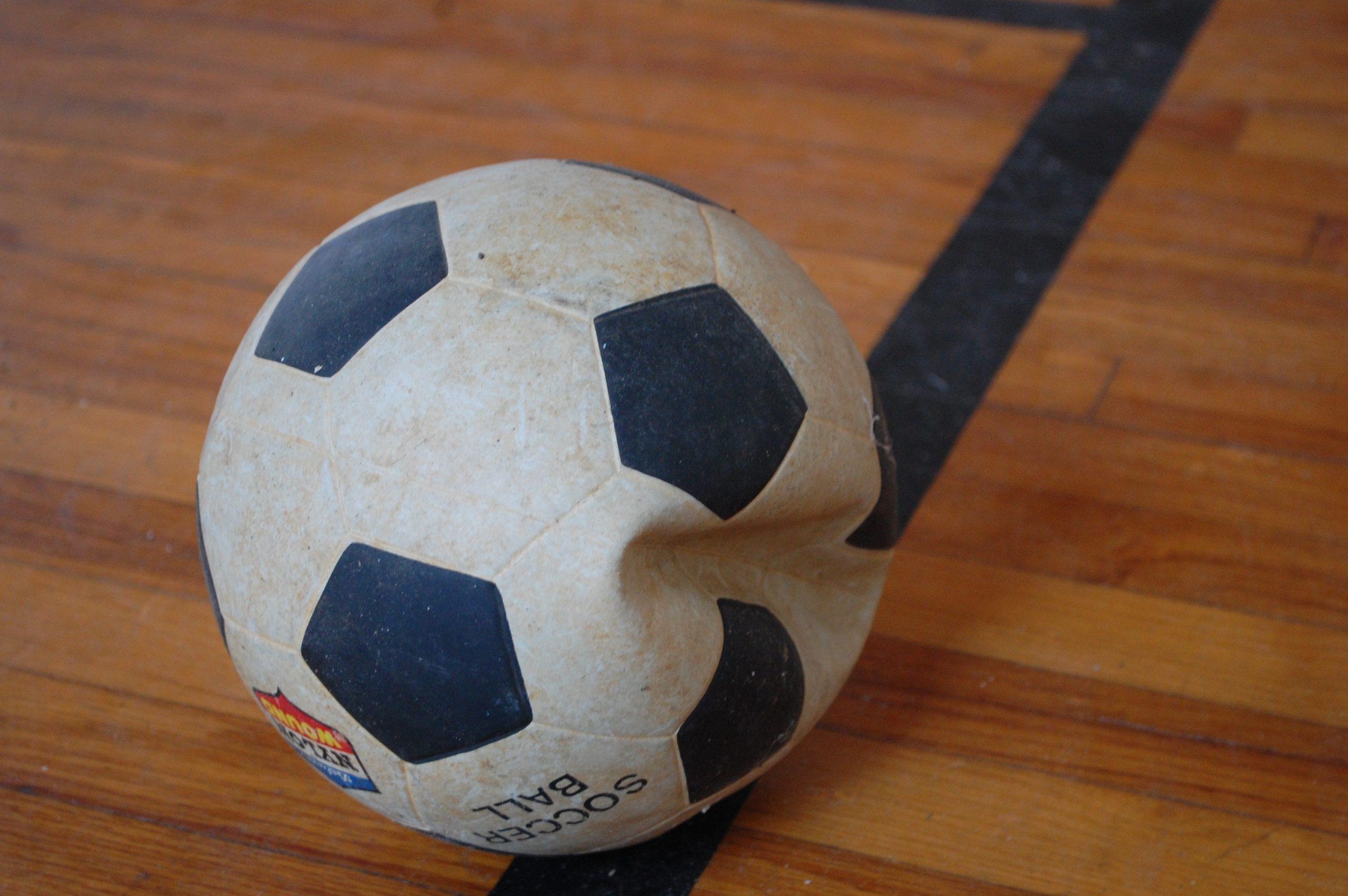 незначительные повреждения мяча