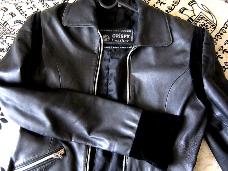 как перешить куртку из кожи