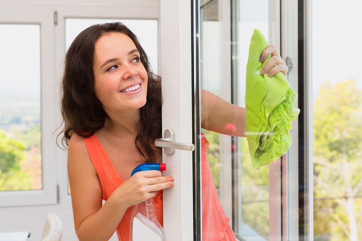 мытье окон снаружи
