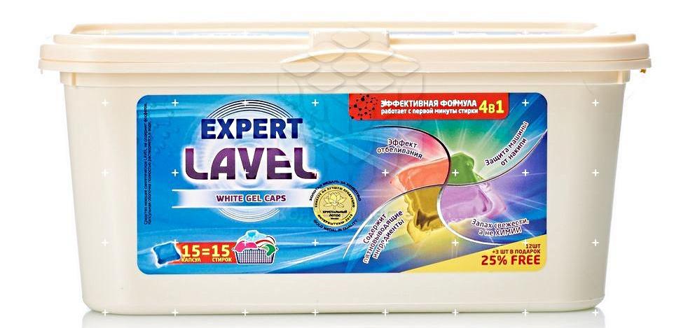 капсулы Lavel Power Gel Capsules Color