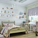 стиль кантри в оформлении комнаты