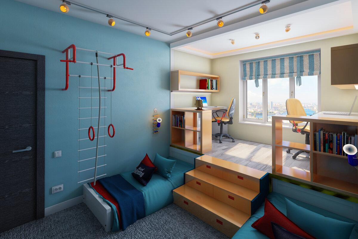 комната для двоих мальчиков