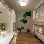 узкая комната для детей