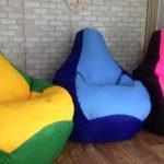 кресло-мешок цветной