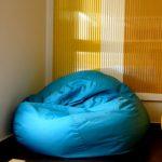 кресло-мешок голубое
