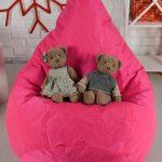кресло-мешок розовый