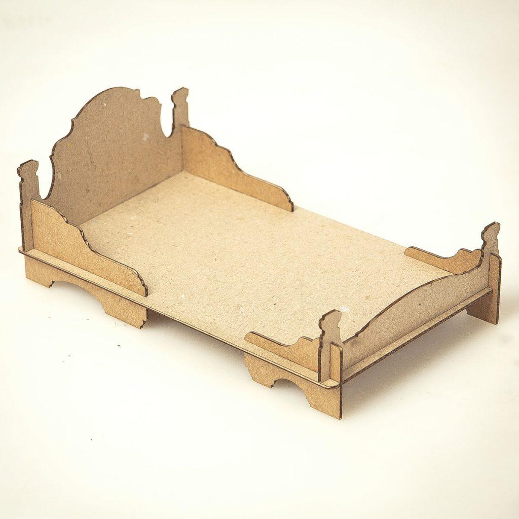 габариты кровати из картона