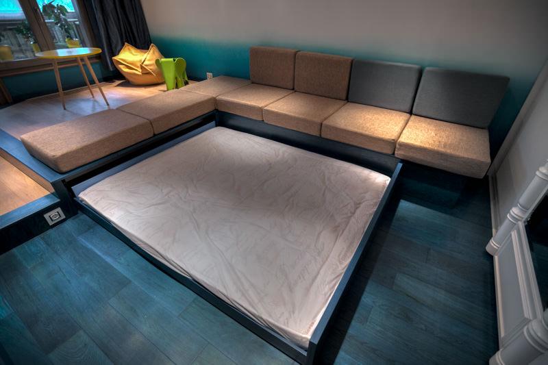 кровать подиум идеи