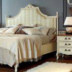 кровать с подъёмным механизмом декор