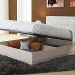 кровать с подъёмным механизмом декор идеи