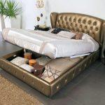 кровать с подъёмным механизмом интерьер