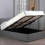 кровать с подъёмным механизмом оформление