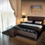 кровать с подъёмным механизмом идеи оформления