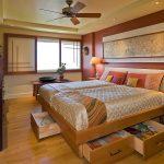 кровать с ящиками идеи интерьер