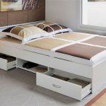 кровать с ящиками фото виды