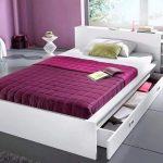 кровать с ящиками виды декора