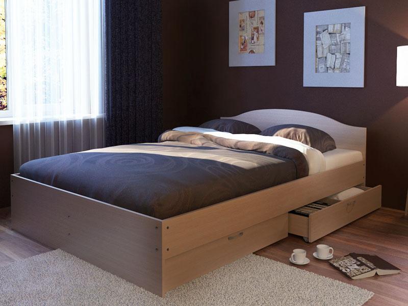 кровать с ящиками дизайн