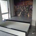 кровать в подиуме фото декора