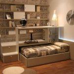 кровать в подиуме идеи декор