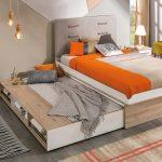 кровать в подиуме варианты