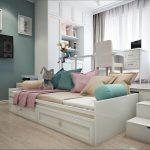 кровать в подиуме фото дизайн