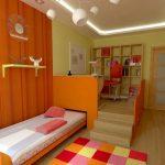 кровать в подиуме дизайн идеи