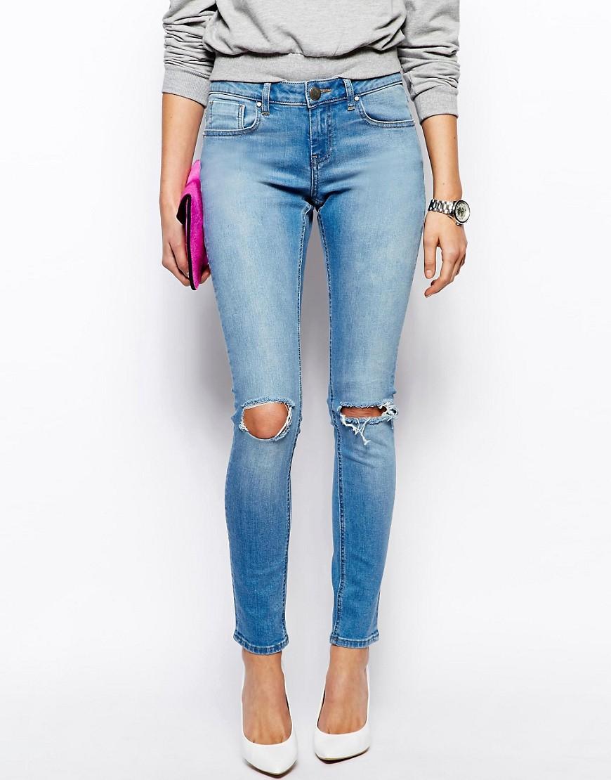 круглые дыры на джинсах