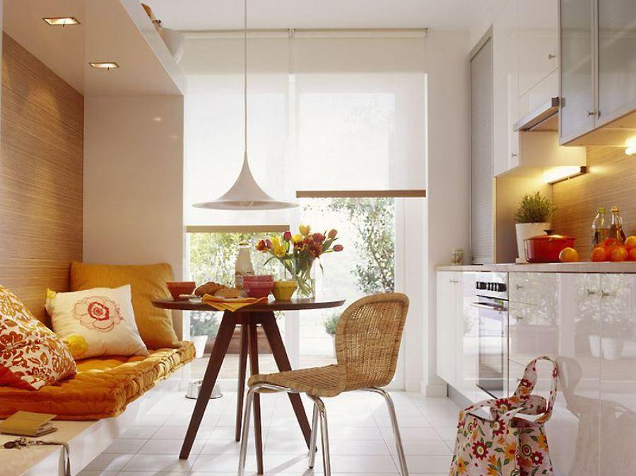 кухня 9 кв м с диваном идеи дизайна