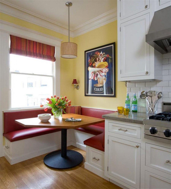 кухня 9 кв м с диваном идеи фото