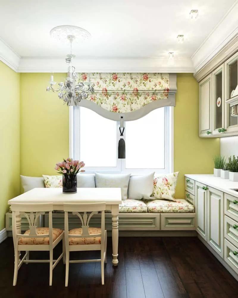 кухня 9 кв м с диваном идеи