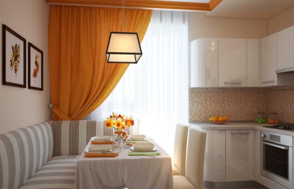 кухня 9 кв м с диваном планировка