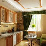 кухня 9 кв метров с диваном идеи фото