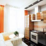 кухня 9 кв метров с диваном идеи дизайн