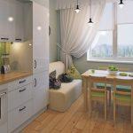 кухня 9 кв метров с диваном идеи дизайна