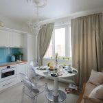 кухня 9 кв метров с диваном фото декора
