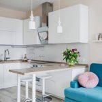 кухня 9 кв метров с диваном декор идеи