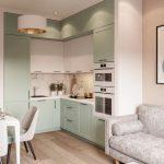 кухня 9 кв метров с диваном идеи декор