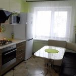кухня 9 кв метров с диваном идеи декора
