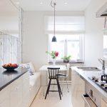 кухня 9 кв метров с диваном фото