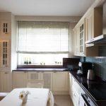 кухня 9 кв метров с диваном интерьер фото