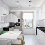кухня 9 кв метров с диваном оформление