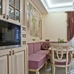 кухня 9 кв метров с диваном идеи