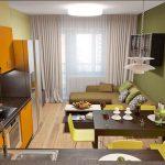 кухня 9 кв метров с диваном идеи оформление
