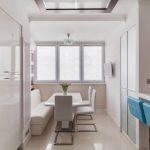 кухня 9 кв метров с диваном варианты