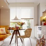 кухня 9 кв метров с диваном фото вариантов