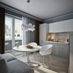 кухня 9 кв метров с диваном варианты идеи