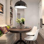 кухня 9 кв метров с диваном фото идеи