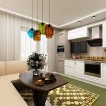 кухня 9 кв метров с диваном идеи виды